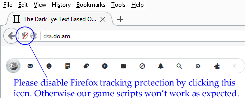 Mozilla Firefox Disable Protection